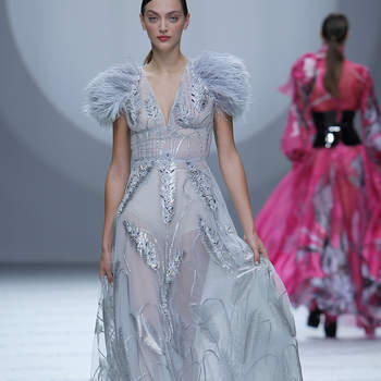 Isabel Sanchis - Credits: Barcelona Bridal Fashion Week