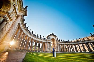 Cudowna jakość zdjęć oraz piękno Zalewu Szczecińskiego i Poczdamu to recepta na fenomenalną sesje ślubną!