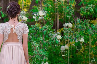 La tendencia más romántica para el 2016: vestidos de novia rosas