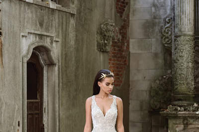Justin Alexander Signature 2017 Fall/Winter: романтические цветы для мечтательных невест