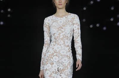 35 vestidos de novia corte sirena 2017 con los que causarás sensación. ¡Descúbrelos!