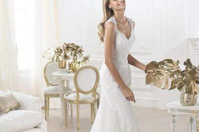 Cómo elegir el escote adecuado para tu vestido de novia