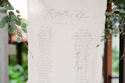 Kunstvolle Kalligrafie für die Hochzeit – Mit Schönschrift die Gäste begeistern