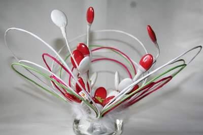 Cadeaux d'invités originaux, personnalisés et comestibles : Dragées Fleuries