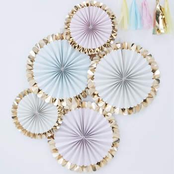 Guirlandas Decorativas Color Pastel 5 unidades- Compra en The Wedding Shop