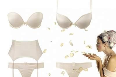 O que sustenta o vestido de noiva?... Lingerie para todos os gostos e formatos!