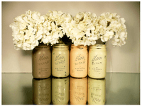 Wedding Inspirations: Mason Jars