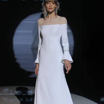 Jesús Peiró. Credits- Barcelona Bridal Fashion Week