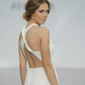 Los mejores vestidos de novia con escote en la espalda. ¡Dejarás a todos impresionados!