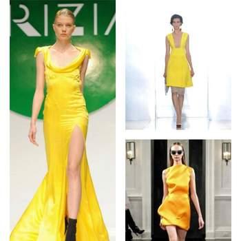 Krizia, Marni e Victoria Beckham hanno puntato sul giallo nelle loro Collezioni