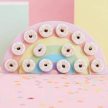 Porta Donuts Arcoíris- Compra en The Wedding Shop