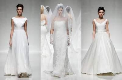 Os melhores vestidos de noiva da passarela bridal White Gallery  2014 em Londres