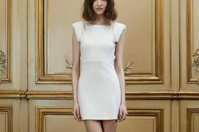 Vestidos de novia para mujeres bajitas 2015: alarga tu silueta