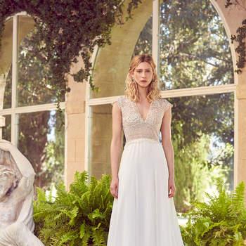 Robe de mariée collection Majesté modèle Nacar - Crédit photo: Margaux Tardits