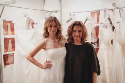 Entrevista a Merche Segarra por los 25 años de Jesús Peiró novias