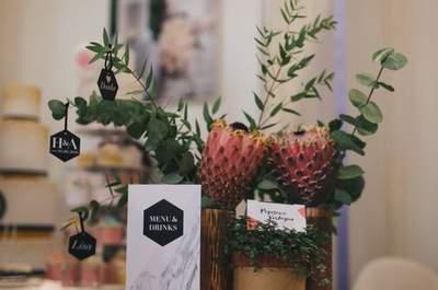 Die schönsten Tischkarten für eine rundum perfekte Hochzeit - gesehen auf Pinterest
