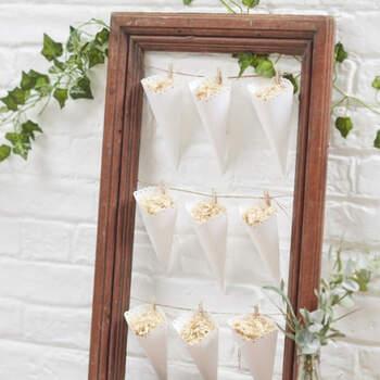 Conos de arroz blanco 10 unidades- Compra en The Wedding Shop