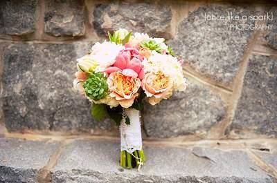 Buquês de noiva com suculentas: um charme especial