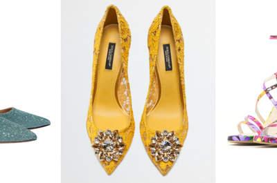 Zapatos para invitada. ¡Una selección de lo más TOP con diseños y colores espectaculares!