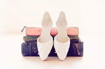 Zapatos de novias reales
