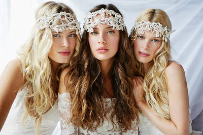 How to accessorize your 2016 Boho-Chic Wedding Dress - Hippy Chic or Extroverted and Earthy