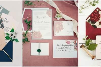 Zaproszenia ślubne 2016, których nie możesz przegapić. Odkryj je!