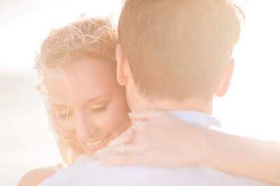 Ben & Hannah's romantic love story engagement shoot from behind the camera lens!