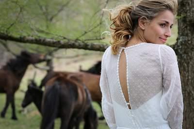 20 robes de mariée avec du plumetis irrésistibles en 2017!