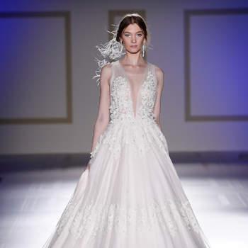 Vestidos de novia para mujeres delgadas 2018: ¡Diseños espectaculares!