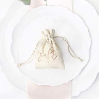 Sachet cadeau 10 Pièces - The Wedding Shop !