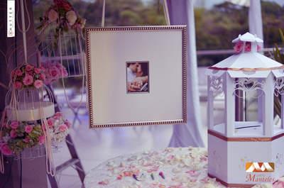 Flores, jaulas y accesorios: detalles para una decoración de boda elegante y original