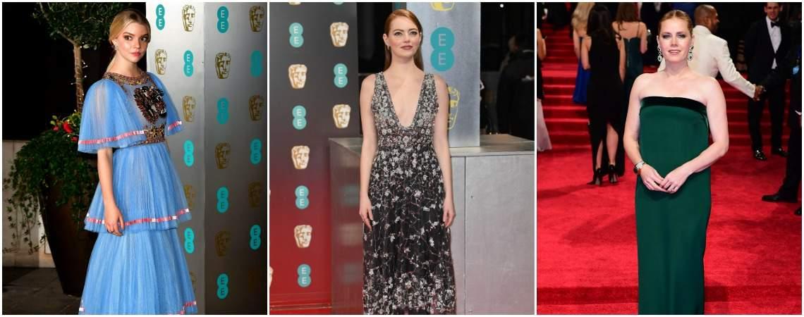 Die schönsten Kleider der BAFTA Awards 2017 – 20 Styles, die Sie sehen müssen