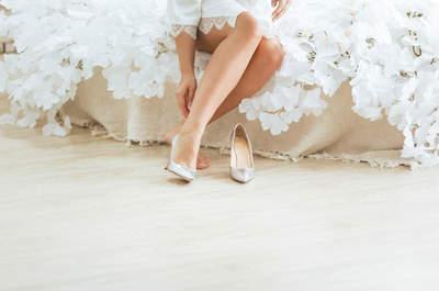 Nuestras 10 mejores tiendas de zapatos para novias en Santiago de Chile