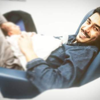 Mercedes é a segunda filha do ator Francisco Garcia. Nasceu a 7 de dezembro. Foto: Instagram Francisco Garcia