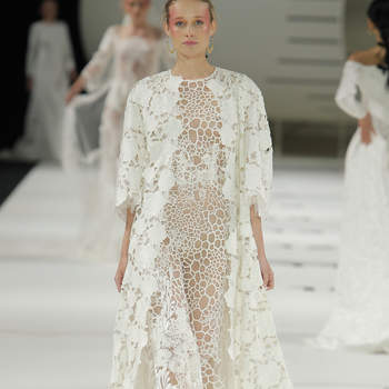 YolanCris. Créditos: Barcelona Bridal Fashion Week