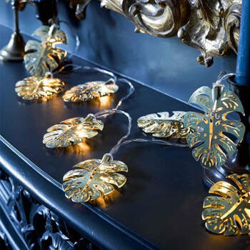Luces hojas doradas- Compra en The Wedding Shop