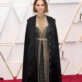 Natalie Portman en Dior. Credits: Getty Images