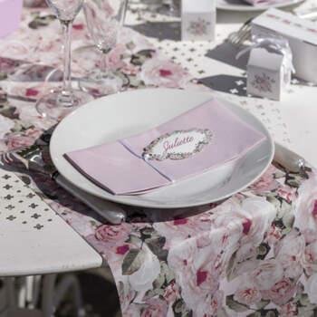 Camino de mesa motivo bucólico- Compra en The Wedding Shop