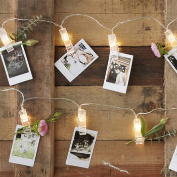 Luces led pinzas- Compra en The Wedding Shop