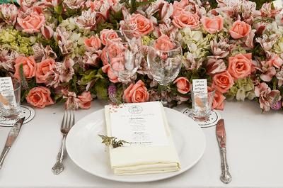 Cómo decorar con flores tu ceremonia civil. ¡Aquí las sugerencias!