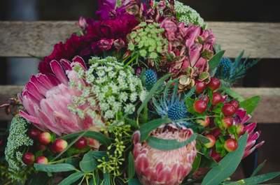 Buquê de noiva com Protea 2017: você vai se apaixonar por essas flores!