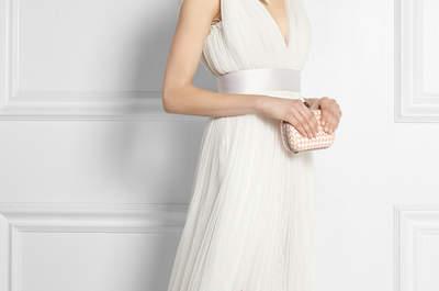 35 vestidos de novia modernos, en tendencia y con detalles que te fascinarán... ¡Cómpralos en línea!