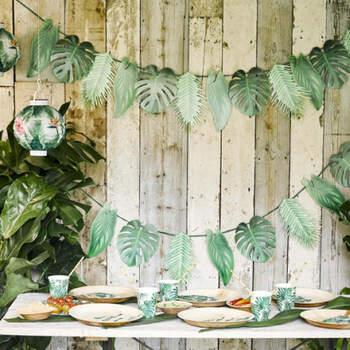 Guirlanda palmeras- Compra en The Wedding Shop