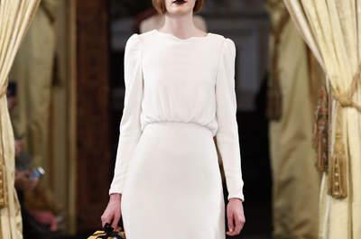 Vestidos de novia de manga larga. ¡Diseños exclusivos para brillar en tu gran día!
