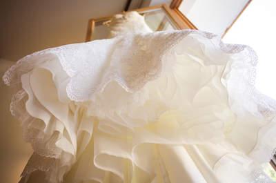 Der Stoff der Träume: Aus welchen Materialien Brautkleider gemacht sind!