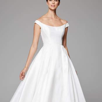 Vestidos de novia cortos para mujeres mayores