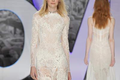 Свадебные платья 2018: новые тренды и оригинальные идеи