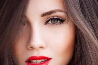 Maquillaje de ojos para novias 2015: una mirada radiante