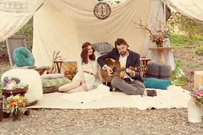 #MartesDeBodas: Todo sobre la tendencia bohemia para bodas 2013