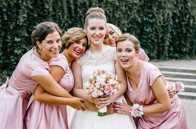 Druhny w różowych sukniach, długi welon oraz tysiące pięknych kadrów z warszawskiego ślubu i wesela!